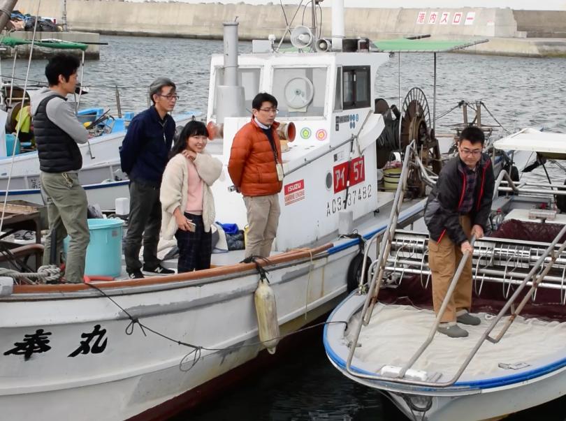 鬼崎漁協の訪問