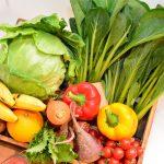 1日350グラムの野菜を食べましょう!
